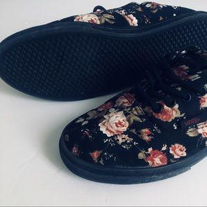 Furgonetas Auténtica Floral Negro Favorable Lo 5sJTyz2xx